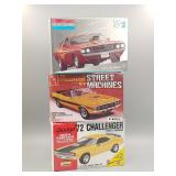 (3) Dodge Challenger Scale Models #3