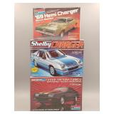 (3) Dodge Charger Scale Models #1