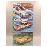 (3) Dodge Charger Scale Models #3
