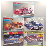 (5) Race Car Models Lot