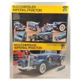 (2) Chrysler Imperial Phaeton 1:24 Scale Models