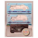 (3) Chevy Die-Cast Banks