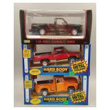 (3) Pickup Trucks Die-Cast 1:24 Scale Cars
