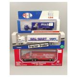 (3) Tractor Trailer Die-Cast 1:64 Scale