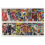 (16) Marvel The New Warriors Comics Lot #1