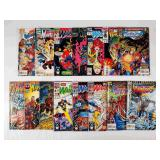 (15) Marvel The New Warriors Comics Lot #2