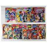 (15) Marvel The New Warriors Comics Lot #3