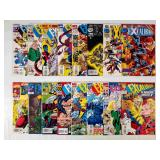 (16) Marvel Excalibur Comics Lot #4