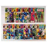 (17) Marvel Nick Fury Agent of Shield Comics