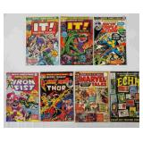 (7) Vintage Marvel Comics Lot #2
