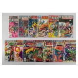 (13) Marvel Micronauts Comics