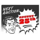 August 21-25 Auction