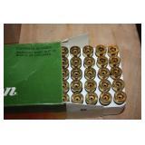 44 ounce fired pistol brass