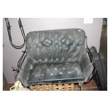 ANTIQUE BUGGY SEAT NEEDS SOME MINOR REPAIRS