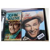 JOHN WAYNE AND ROY ROGERS VHS SETS