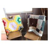 LOT OF TWO HANDMADE QUILTS