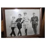 """SIGNED PIC FROM THE CAST OF """"THE HITLAR GANG"""""""
