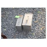 LOT OF TWO AMMO CANS