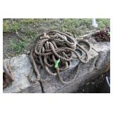 LOT OF WELL ROPE