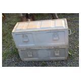 METAL AMMO BOXES