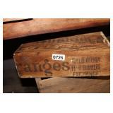 VTG. SUNKIST ORANGES WOOD BOX