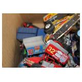 LOT OF TOY CARS AND MISC TOYS