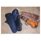 VIOLIN IN CASE AND EXTRA CASE