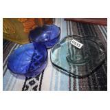 MISC DECORATIVE GLASS BOWLS