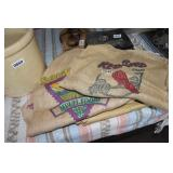 LOT OF PINTO BEAN BURLAB BAGS