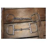 D RING AND RING SNAFFLE BITS