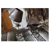 WESTERN METAL CUTOUT CANDLE HOLDERS