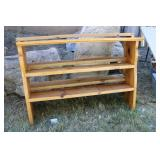 SOLID PINE BOOK SHELVES