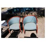 LOT OF TWO CHAIRS