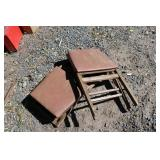 SMALL FOLDING BENCHES