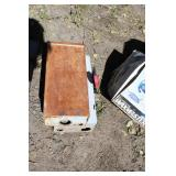 LOT OF TWO ELECTRIC SWITCH BOXES