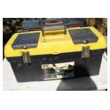 STANLEY TOOL BOX AND CONTENTS