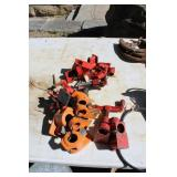 LARGE LOT OF PIPE CLAMPS