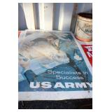"""WWII. """"US ARMY"""" """"SPECIALISTS IN SUCCESS"""" SIGN"""