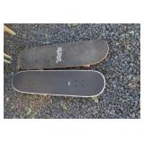 LOT OF TWO SKATEBOARDS