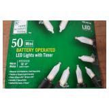 50L B/O MINI LED LIGHTS WARM WHITE