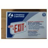 RED LED EMERGENCY EXIT SIGN