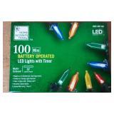 100L B/O MINI LED LIGHTS MULTI