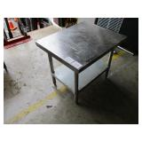 Stainless Steel Work Table, 25x24