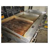 Flat Top Grill, 3 Compartment