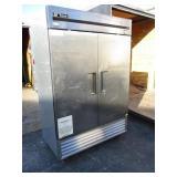 True SS 2 Door Freezer
