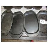 Lot of 8 Platters
