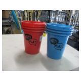 Beer Pong Buckets