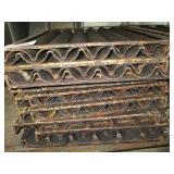 Lot of 13 Sub Roll Pans/Rising Racks