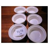 Lot of 6 Small Bowls