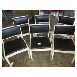 Lot of 6 Chairs